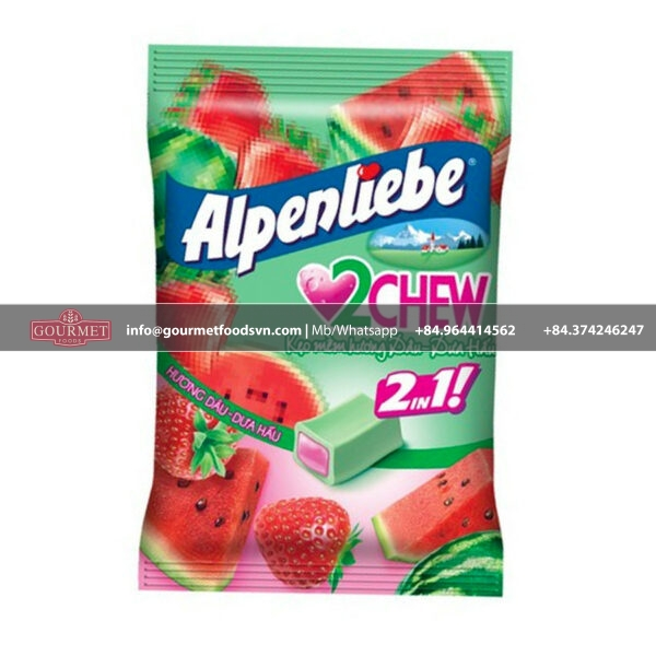 Alpenliebe 2 Chew Strawberry & Watermelon