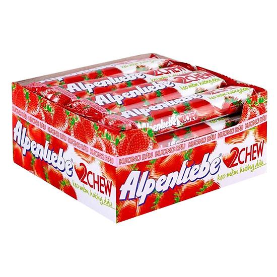 Alpenliebe 2 Chew Strawberry