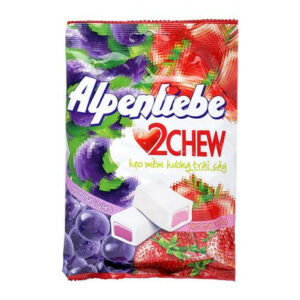 Alpenliebe 2 Chew Grapes & Strawberry