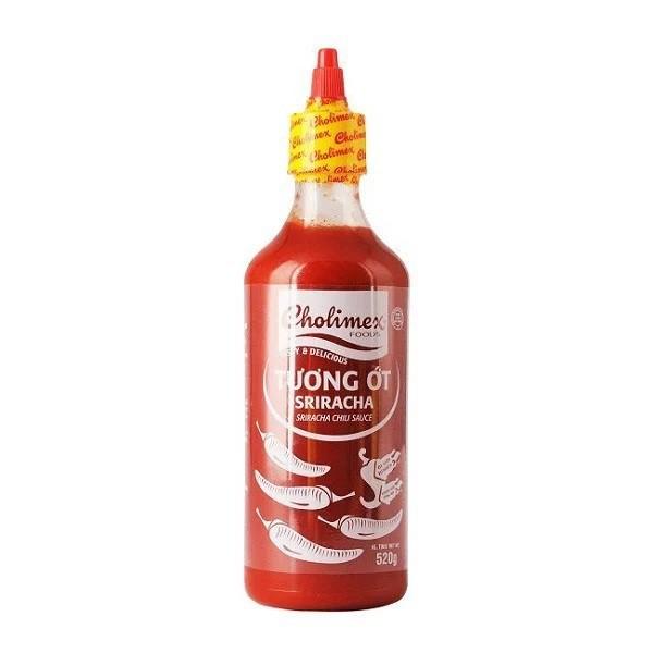 Cholimex Siracha Chili Sauce 520g x 12 Bottle