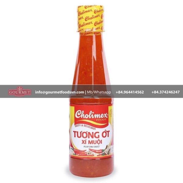 Cholimex Plum Chiu Chili Sauce 270g x 24 Glass Bottle