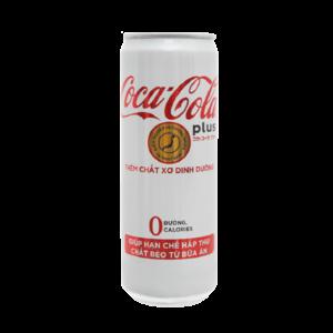 Coca cola plus soft drink 320ml