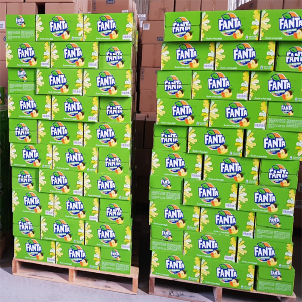 Fanta Cream Soda Fruity Soft Drink 6