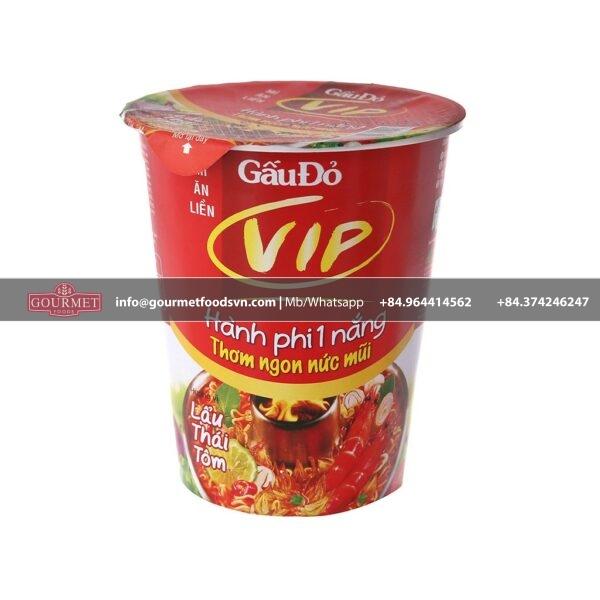 Gau Do VIP Shrimp Thai Hot Pot 65g x 24 Cup