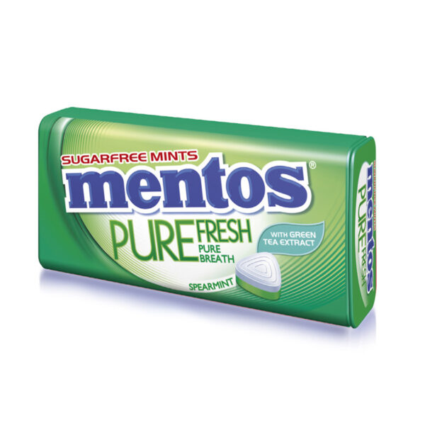 Mentos Pure Fresh Spearmint 35g x 6 x 12 Block
