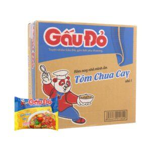 Gau Do Hot & Spicy Sour Shrimp 63g x 30 Bag