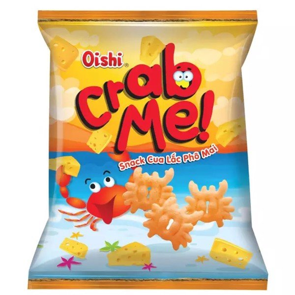 Oishi Crab Shake Cheese Snack 40g x 60 Bag