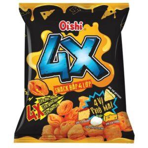 Oishi Snack Corn 4 Layers - Cheese Flavor