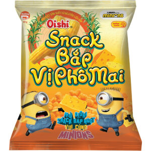 Oishi Snack Corn with Cheese 40g x 60 Bag