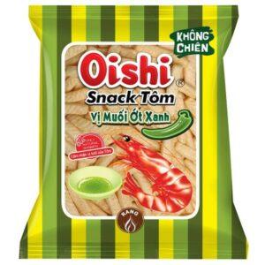 Oishi Snack Shrimp Salt & Green Pepper