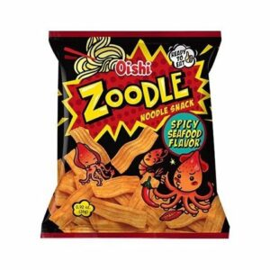 Oishi Zoodle Spicy Seafood Flavor Snack