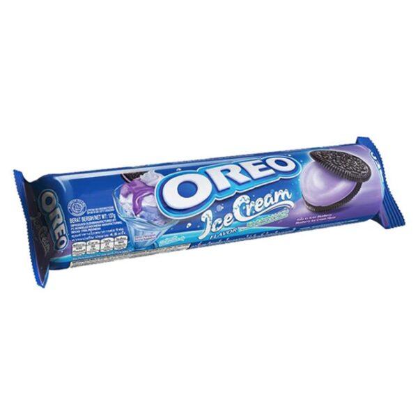 Oreo Biscuit Ice Cream Blueberry