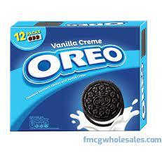 Oreo Biscuit Vanilla Cream