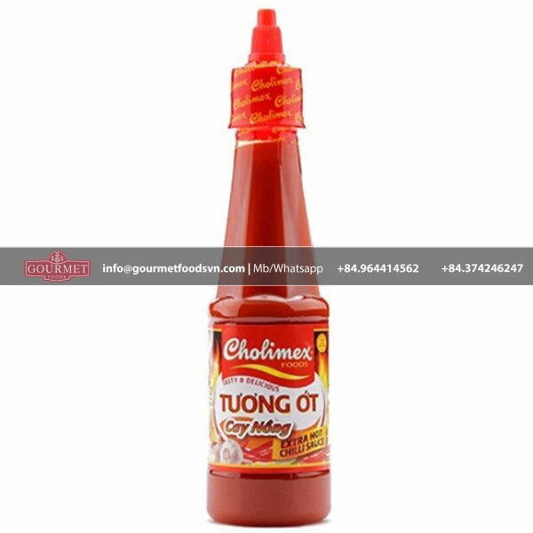 Cholimex Extra Chilli Sauce 270g x 24 Bottle