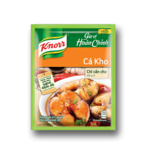 Knorr Seasoning Salt Fish Cooked With Sauce