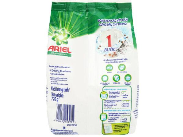 Ariel Sunrise Detergent Powder 720g