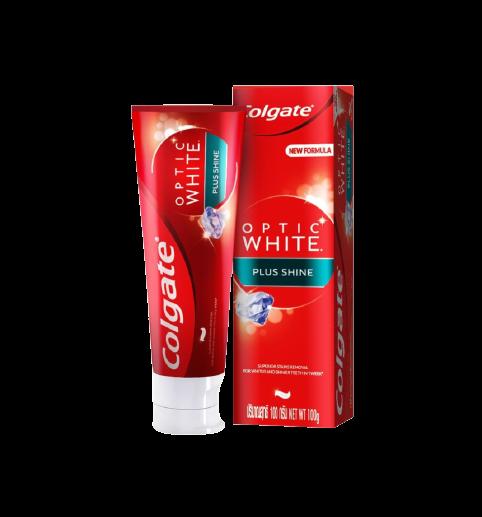 Colgate Toothpaste Optic White Plus Shine 100g