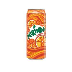 Mirinda Orange Soft Drink 300ML x 24 Can