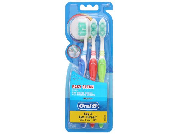 oralB toothbrush easy clean