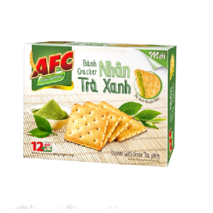 AFC Cracker with Green Tea Filling