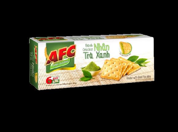 AFC Green Tea Cracker Biscuit