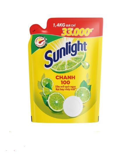 Sunlight dishwashing liquid lemon
