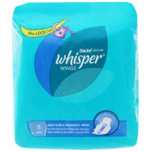 Whisper Sanitary Heavy Flow And Overnight 3