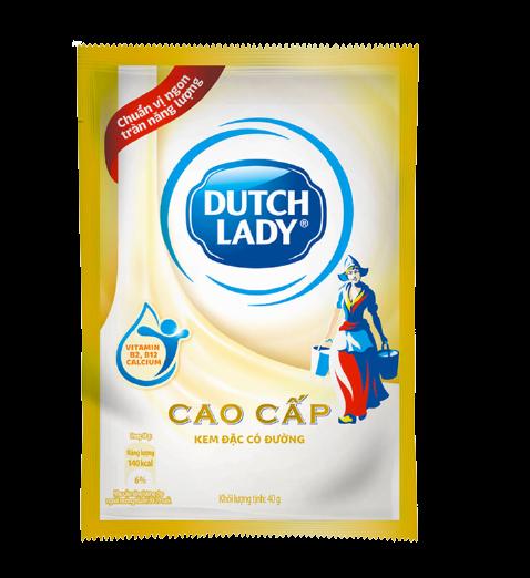 Dutch lady condensed milk