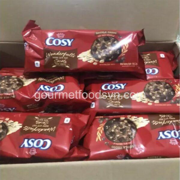 Cosy Double Chocolate & Oats Cookies 1