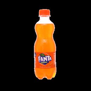 fanta orange soft drink 390ml 2