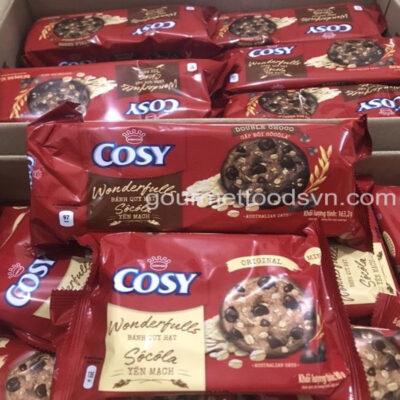 Cosy Double Chocolate & Oats Cookies